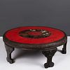 Japanese Round Low Tea Table