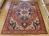 Antique Persian Serapi - Courtesy of Shaia Oriental Rugs