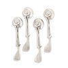 Claude Lalanne, Escargot spoons, set of four