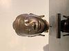 Small Mandalay Burmese Bronze Buddha Head, 19th Century