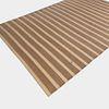 Striped Yarn Rug