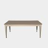 Taupe Lacquer Dining Table
