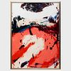 Norman Bluhm (1921-1999): Untitled