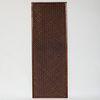 Unusual Chinese Woven Hardwood Panel