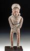 Maya Jaina Pottery Standing Warrior Figure w/ TL