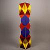 Sebastián. Cubo transformable Brancusi4 en polímero inyectado / Polymer transformable cube