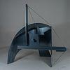 Manuel Felguérez. Sin título, 2010. Escultura de acero esmaltado