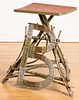 Painted twig stand, early 20th c.