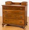 Chippendale style walnut dresser