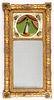 Sheraton giltwood mirror, 19th c.