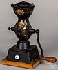 Enterprise cast iron coffee mill, late 19th c.