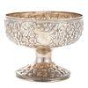 S. Kirk & Son Coin Silver Repousse Pedestal Bowl
