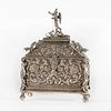 Bolivia, Lidded Silver Chest, 19th Century
