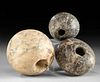 Egyptian Pre-Dynastic Stone Mace Heads, ex-Sotheby's