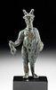 Museum Exhibited Roman Leaded Bronze Mercury