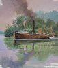 "John Swatsley (B. 1937) ""Steamboat Experiment"""