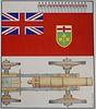"""Erik Nitsche (1908 - 1998) """"Fort York/Ontario"""""""