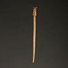 A Bone Fishtail Hairpin, 7-3/8 in.
