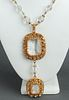 Christian Dior Crystal Sautoir Necklace, c. 1960