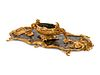 A Louis XV Style Gilt Bronze and Chinoiserie Painted Table Centerpiece