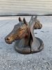 COPPER/BRONZE  HORSE HEAD BOOKENDS BY GLADYS BROWN