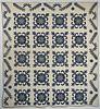 Good Blue & White Antique Quilt