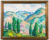 Eva Fowler Post-Impressionist Landscape Oil