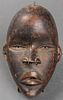 African Dan Carved Wood Mask, Ivory Coast