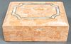 Maitland Smith Attr Tessellated & MOP Dresser Box