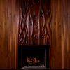 Phillip Lloyd Powell, Rare sculpted fireplace