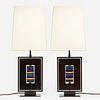 Roberto Giulio Rida, Table lamps, pair