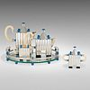Michael Graves, Piazza four-piece tea and coffee service with tray