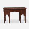 Gustav Stickley, Rare and Early writing table, model 417