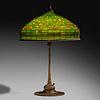 Tiffany Studios, Autumn Leaf table lamp