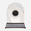 Lalique, Deux Figurines clock