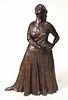 "Cast Bronze Sculpture, ""Natoma"" R.C. Gorman"