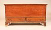 Chippendale Painted Pine Two-Drawer Blanket Chest