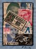 K. Schwitters, attrib, 3 Collages signed LR, German