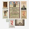 Important 1925 Paris Exposition Internationale des Arts Decoratifs graphics collection
