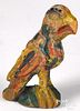 Wilhelm Schimmel carved and polychrome eaglet