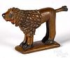 Wilhelm Schimmel small carved and painted spaniel