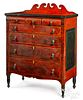 Soap Hollow, Pennsylvania painted chest of drawer