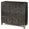 Pennsylvania painted apothecary cupboard