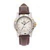 Reloj Tag Heuer Professional. Movimiento de cuarzo. Caja circular en acero 40 mm. Carátula color gris con índices de barras y...