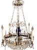 Rare French Baccarat Chandelier