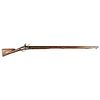 Rare Revolutionary War Period Use American Assembled Flintlock Musket