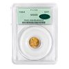 1864 Gold Dollar PCGS MS68 CAC OGH