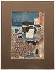 Kunisada Japanese Woodblock Print