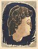 "Kiyoshi Saito ""Venus"" Woodblock Print 1948"