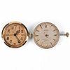 Grp: 2 Rolex Watch Movements & Dials